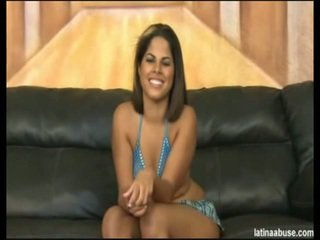 """Elana is the spicy faced 19 year ýaşy ýeten kubaly, definitely lacking in a titty department, but overall worth the bangin. she went nice in """"cock shock"""" 10 seconds after being onto her knees. its lik"""