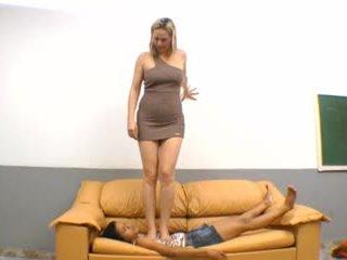 brazilski, foot fetish, femdom