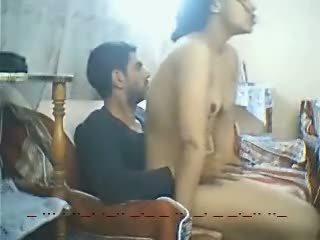 Egyptský dáma souložit mezi two men-hot video